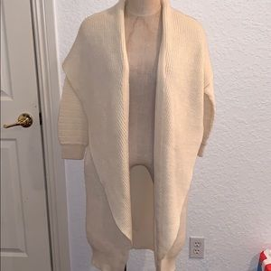 Rodier Paris Wool Cardigan One Size